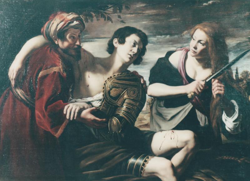 L'Angelica che cura Medoro ferito
