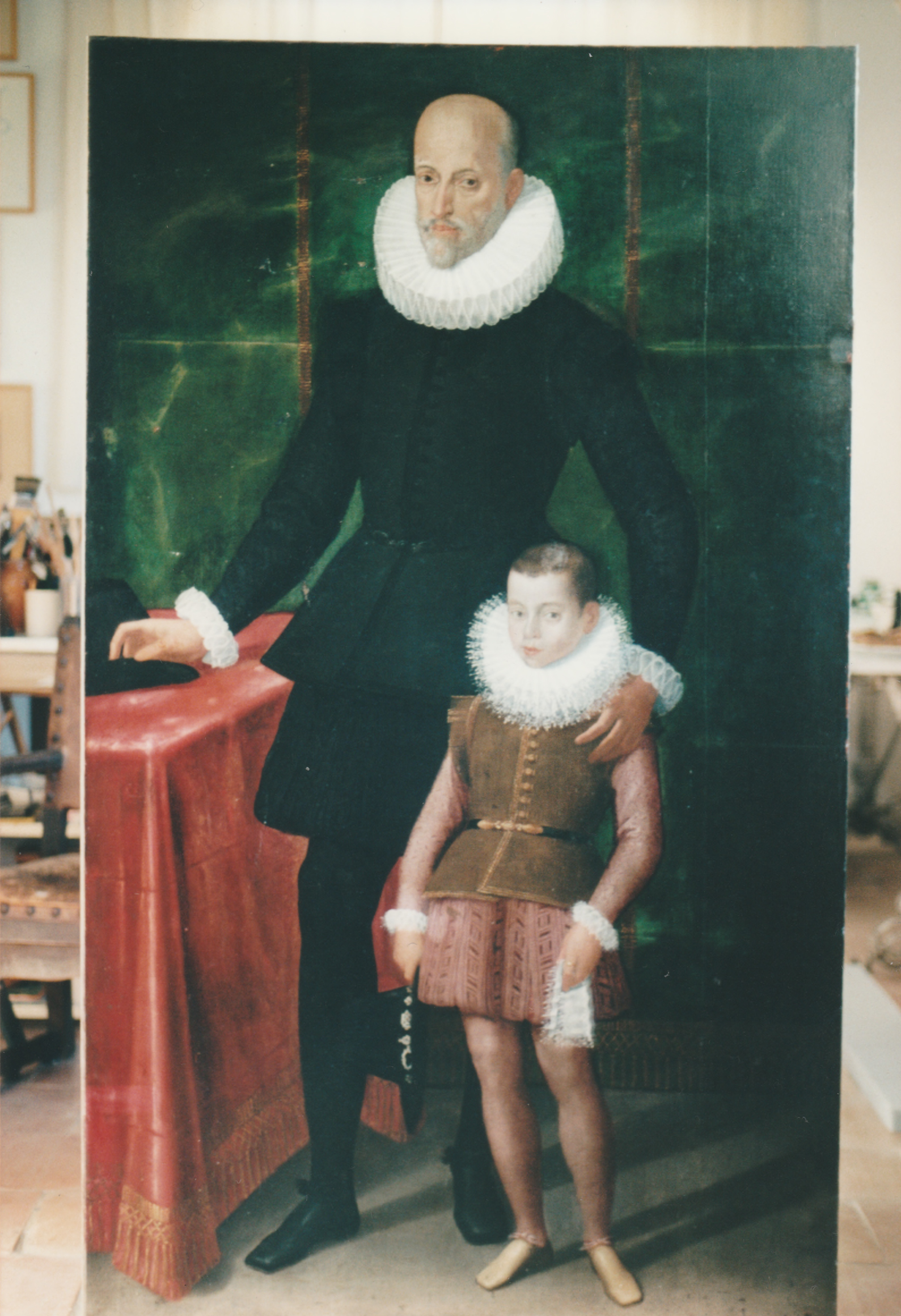 Ritratto di Gentiluomo con il figlio