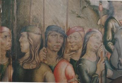 Niccolò di Liberatore, detto l'Alunno - Martirio di San Bartolomeo - restauro dipinti su tavola