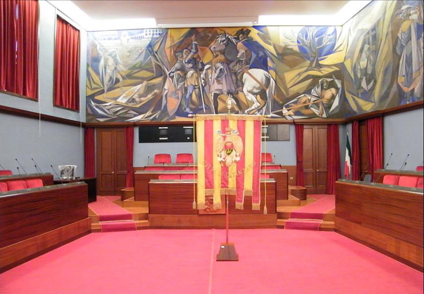 Sala Consiliare del Municipio di Catanzaro