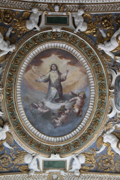 San Giovanni Battista dei Fiorentini Cappella Benozzi di Antonio Tempesta dopo il restauro - robertanadali.com