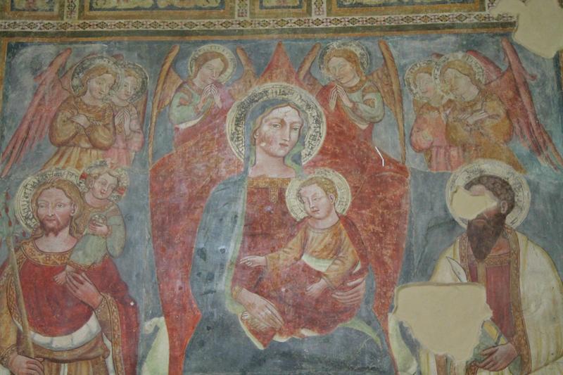 Madonna in trono con Bambino e santi