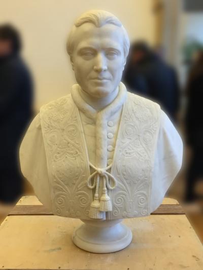 Busto Corsini Pietro Tenerani dopo il restauro - robertanadali.com