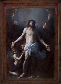 Cristo Salvator Mundi di Mattia Preti dopo il restauro - robertanadali.com