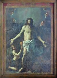 Cristo Salvator Mundi di Mattia Preti prima del restauro - robertanadali.com