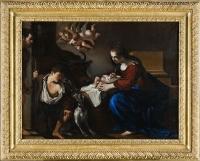 Natività del Guercino dopo il restauro - robertanadali.com