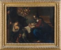 Natività del Guercino prima del restauro - robertanadali.com