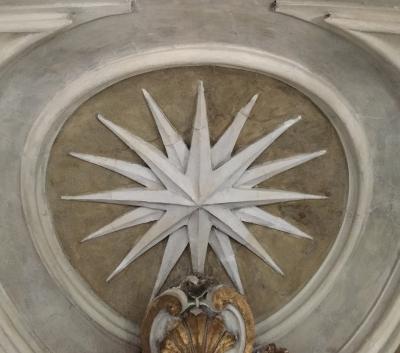Rocca di Santo Stefano - Stella della volta dopo il restauro - robertanadali.com