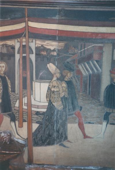 Villino Storico nel Quartiere Coppedè durante il restauro: tasselli - robertanadali.com
