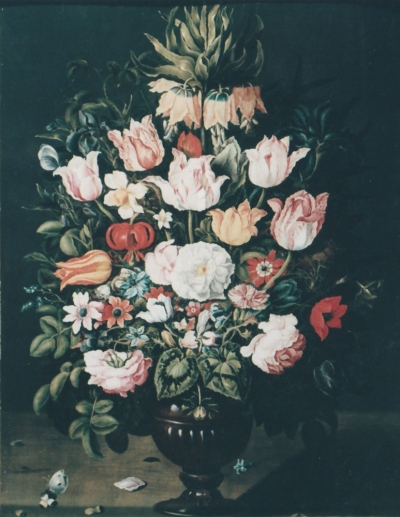 Vaso di fiori di Osias Beert dopo il restauro - robertanadali.com